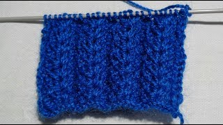 Easy Design of Knitting very simple tutorial | knitting  Designs | Apoorvi Creation