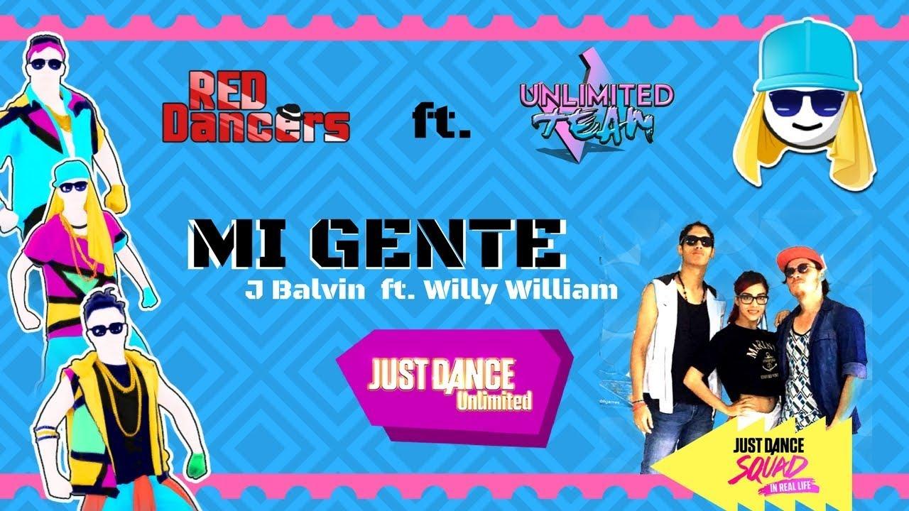 MI GENTE | Just Dance Unlimited | VaneRedLady ft  Carlos Jackson ft   Bajamut12 | TORNEO EXTREME