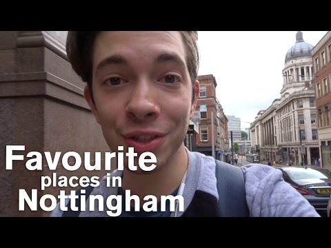 Vlog: Favourite places in Nottingham