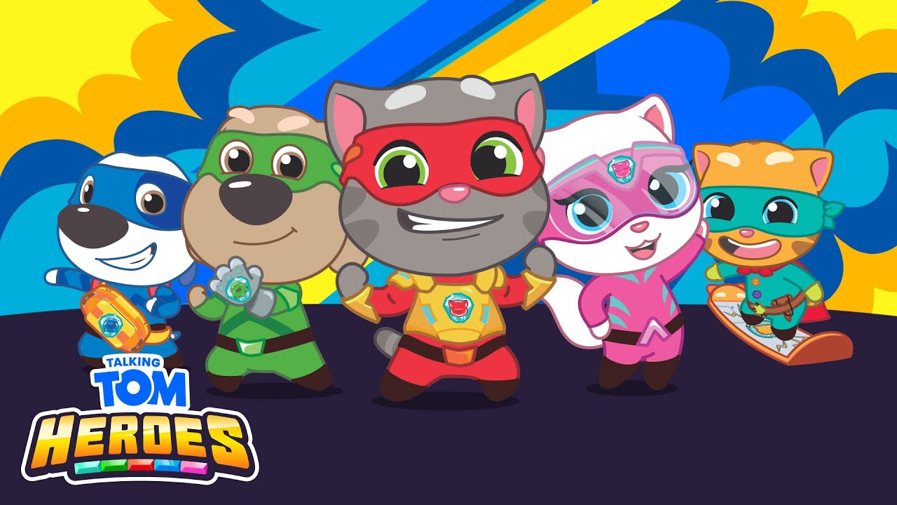 ? NEW! Talking Tom Heroes Episodes - LIVE NOW!