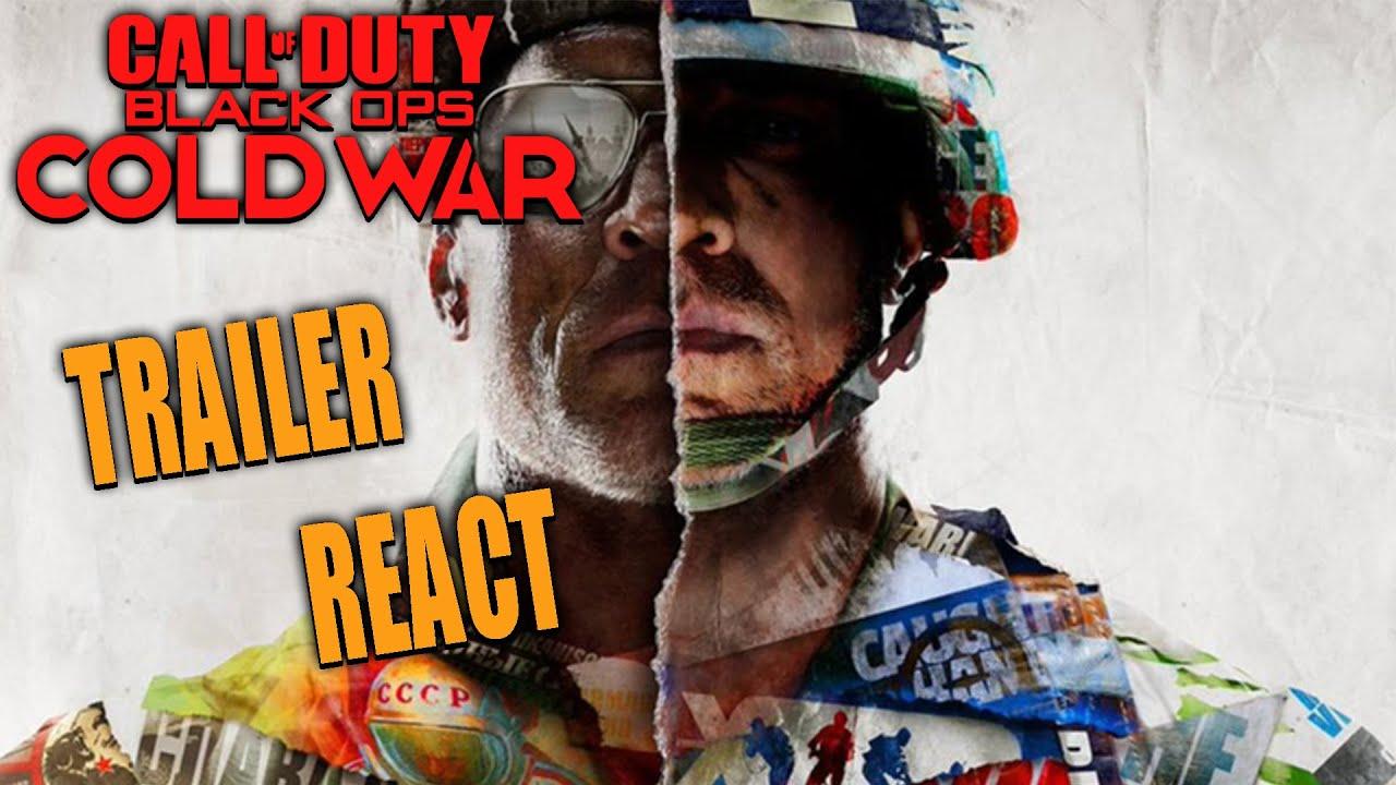 CALL OF DUTY 2020 REVEAL! (Black Ops Cold War Trailer) Deutsch React
