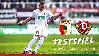 Re-LIVE // Testspiel // FC Augsburg vs. Dynamo Dresden 2:1