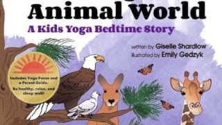 Help your Child Sleep Better with this Kids Yoga Bedtime Book