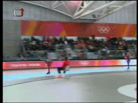 Martina Sáblíková na ZOH v Turíně.wmv