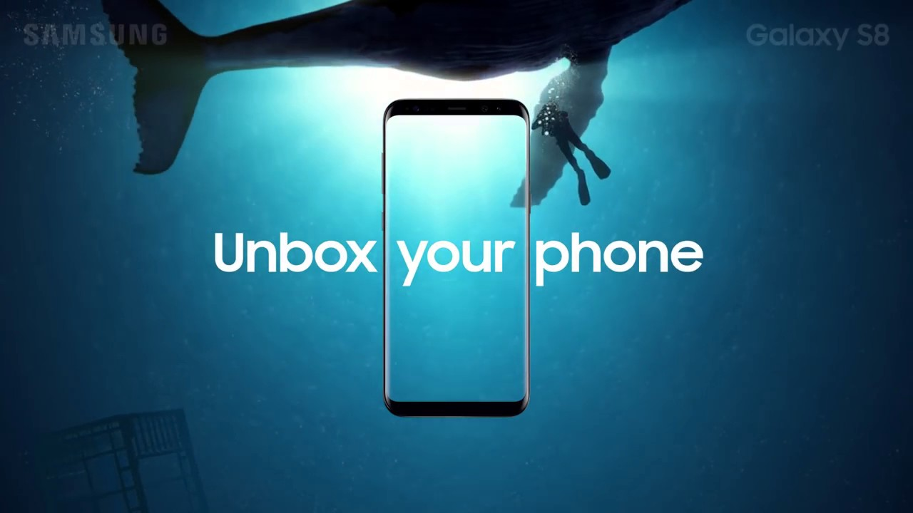 Samsung Galaxy S8 Unbox Your Phone Whale Youtube