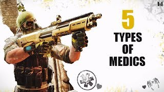 Warface 5 types of medics