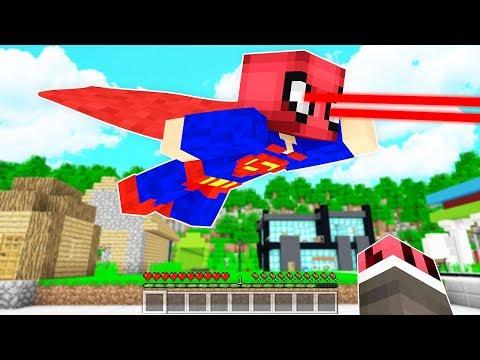 FAKİR SÜPER KAHRAMAN OLDU! 😱 - Minecraft
