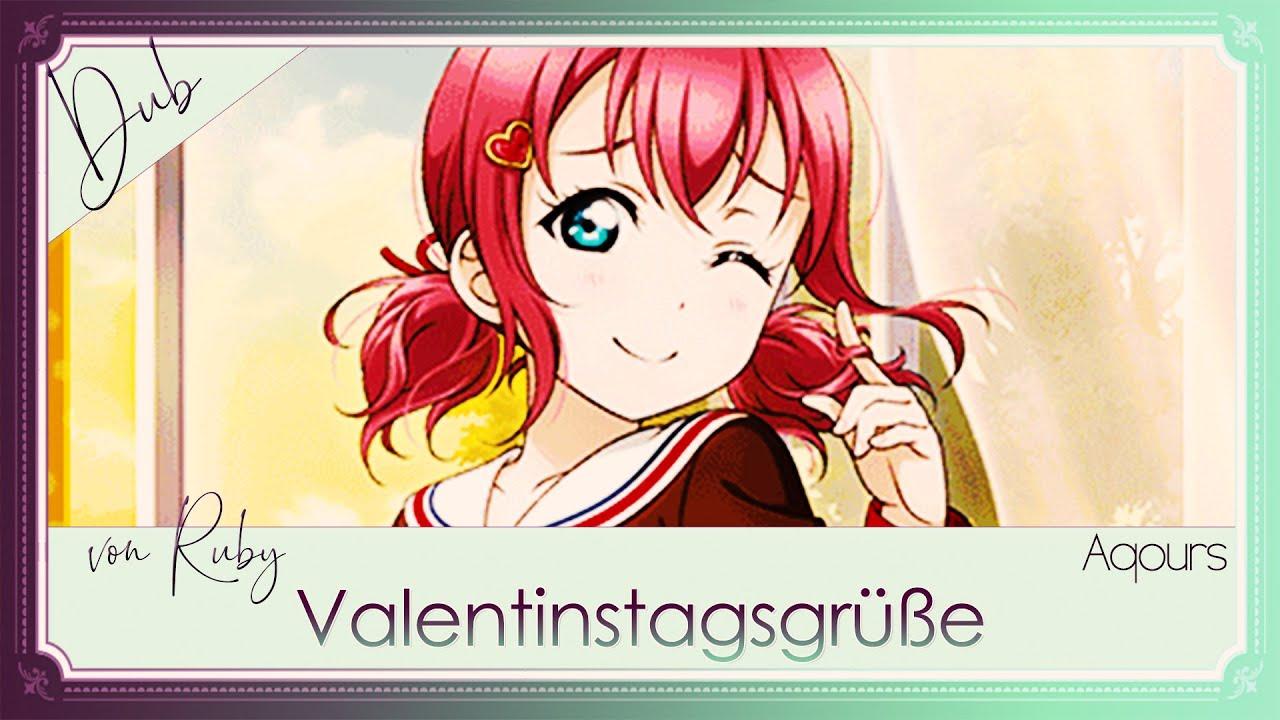 Valentinstagsgrüße Von Ruby 🍭 [German Fandub]