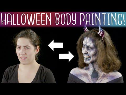 Halloween Body Paint Illusions | Spotlight Studio