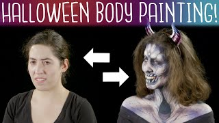 Halloween Body Paint Illusions | Spotlight Studio