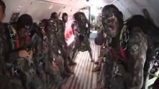 Operação Amazônia - Infiltração de Precursores Paraquedistas