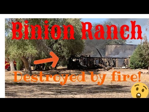 The Binion Ranch Fire!