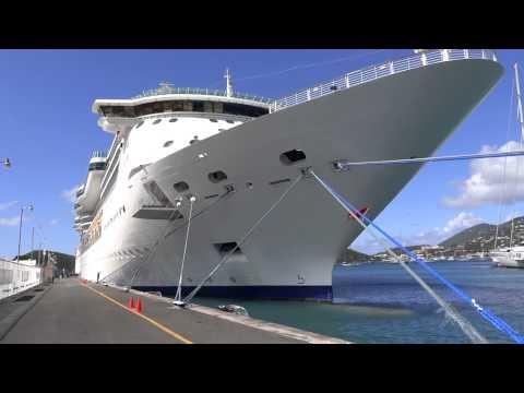 Charlotte Amalie, St. Thomas, USVI - Jewel of the Seas HD (2015)