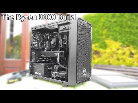 Building a Ryzen 5 3600 Gaming PC!
