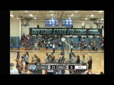 DSC Falcons Womens Volleyball VS Indian River State College - Sept. 9, 2015