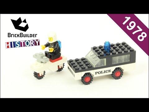 Lego Town 644 Police Mobile Patrol - 1978 - BrickBuilder History