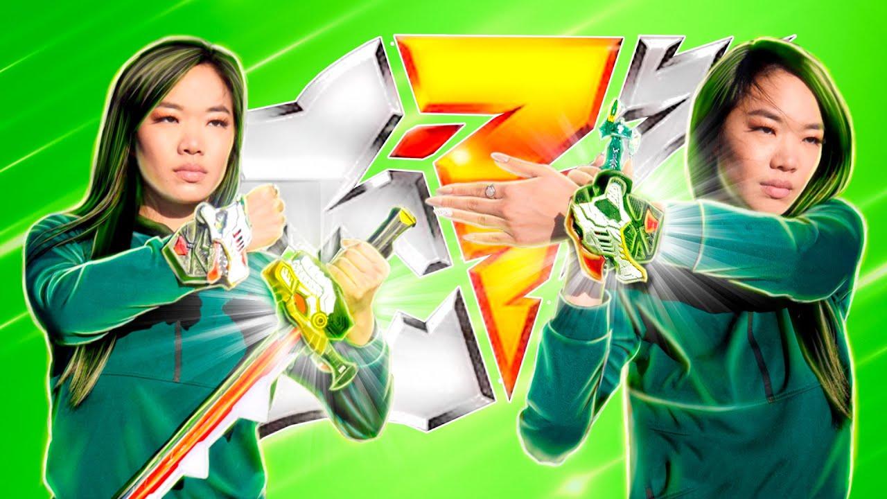 Power Rangers Dino Fury Green Ranger Morph