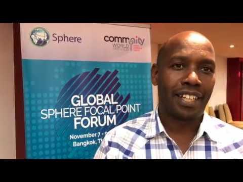 Global Sphere Focal Points Forum - Benson Maina, Kenya