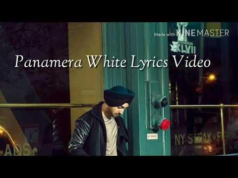 Panamera White Lyric Video
