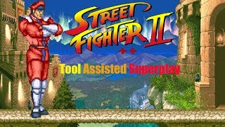 Street Fighter II ++ - Bison (Dictator)【TAS】