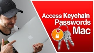 How to Access iCloud Keychain Passwords Mac