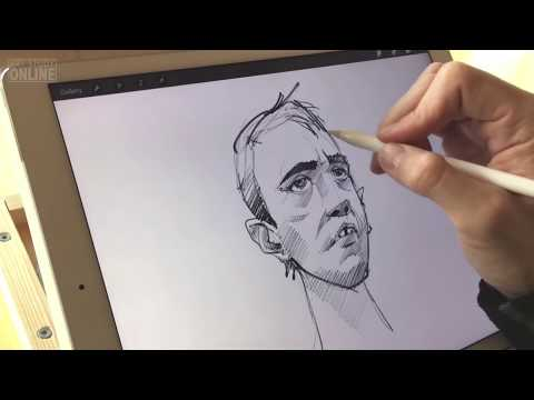 Apple Pencil Test & Review using iPad Pro!