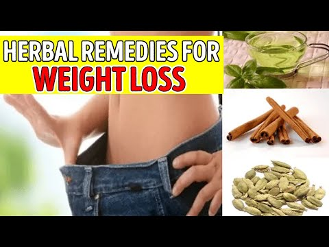 ✅ Weight loss fast || herbal remedies for weight loss