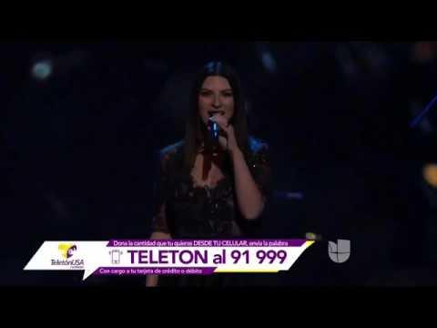 Laura Pausini Viveme Teletón USA