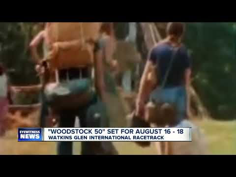 Woodstock At 50: Anniversary Concert Coming To Watkins Glen