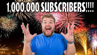 1,000,000 Subscribers Live Stream!!!!!