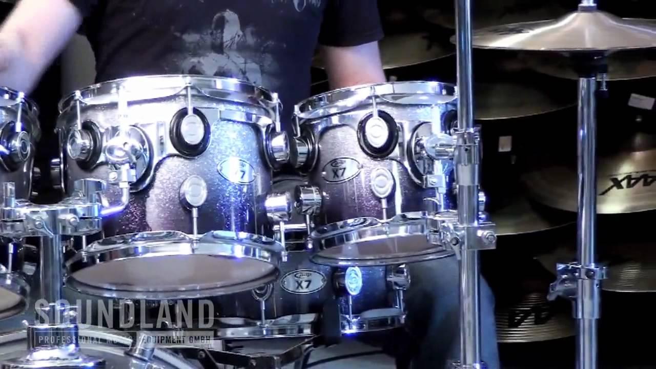 Pdp X 7 Drum Set Soundland Gmbh Stuttgart Youtube