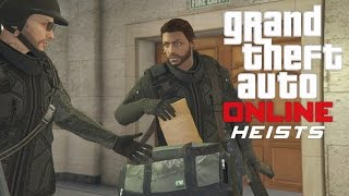 GTA 5 Online PS4 Multiplayer Gameplay - GTA 5 Heist - The Pacific Standard Job Finale