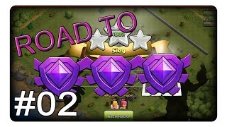 ROAD TO KRISTALL #2 || CLASH OF CLANS | Deutsch