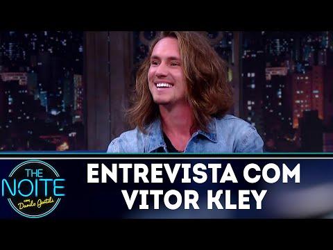 Entrevista com Vitor Kley | The Noite (03/08/18)