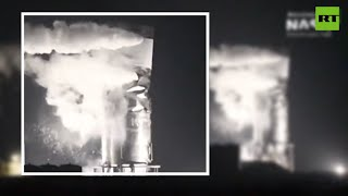 Crumpled like a tin can | Elon Musk's latest SpaceX test fails
