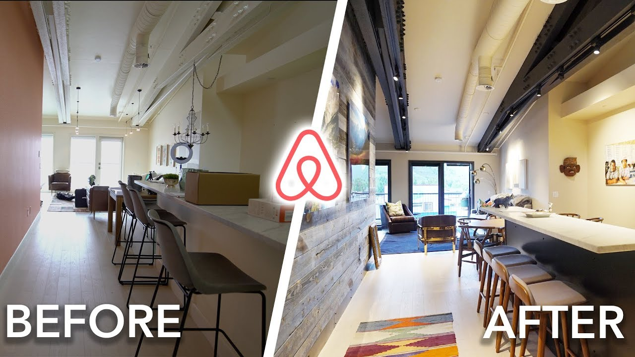 Complete Before After Renovation Of My New Jackson Hole Airbnb