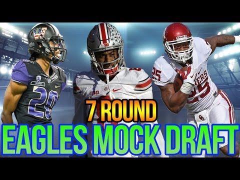 RIP Sidney Jones   Full 7 Round Philadelphia Eagles Mock Draft   Mock Draft 6.0