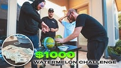 EXPLODING WATERMELON CHALLENGE (WINNER GETS $1000)