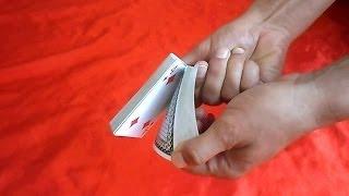 تعلم العاب الخفة # 208 ( للمبتدئين بالورق , الورقة المطيعة ) Easy magic trick