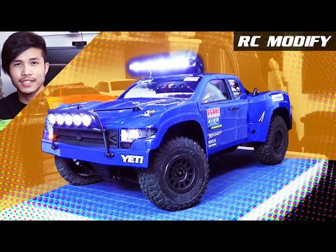 RC Modify 22 | Axial Yeti Trophy Truck