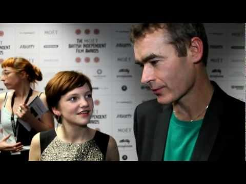 Director Rufus Norris and Eloise Laurence   The British Independent Film Awards 2012