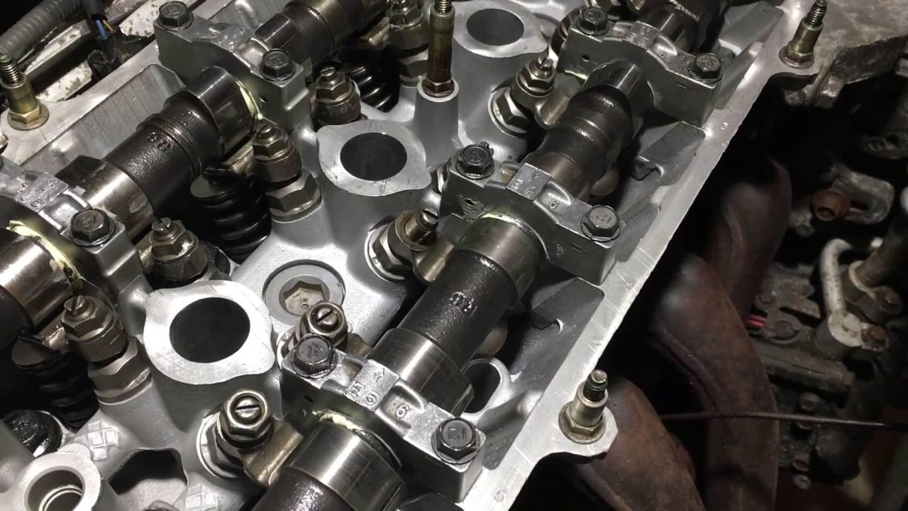 2001 honda crv valve adjustment