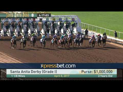 Santa Anita Derby (Gr. I) - April 8, 2017