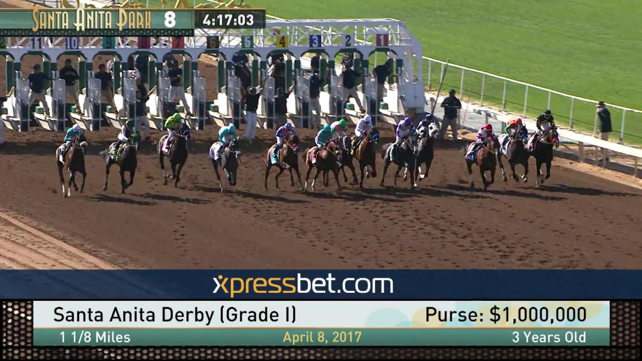 Santa Anita Derby Gr I April 8 2017 Youtube