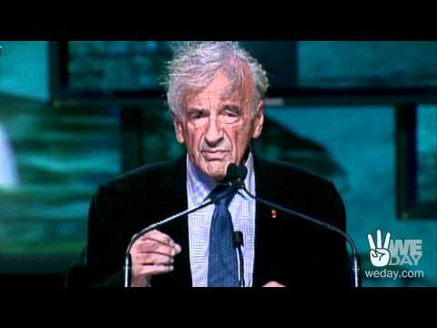 Elie Wiesel on hope, compassion, and the power of youth at WE Day