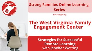 Strategies for Successful Remote Learning Webinar