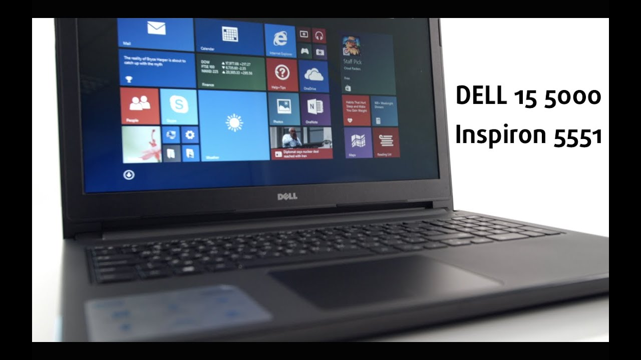 DELL Inspiron 5551 - 15 5000 Series, 2015 - video review