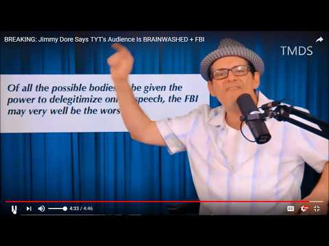 Jimmy Dore Nails TYT Audience As Trump Deranged & Brainwashed To Xenophobia