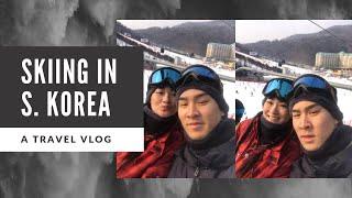 Skiing in South Korea!! Vivaldi Park Skiing 19.01.19