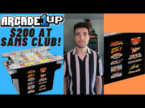 ARCADE1UP STREET FIGHTER 2 CHAMPION EDITION COCKTAIL ON SALE AT SAM`S CLUB FOR $200 from Brick Rod